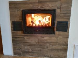 relax u ohně, fireplace