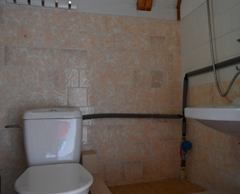 bathroom in chalet