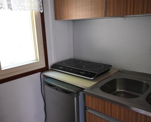 kitchen in chalet